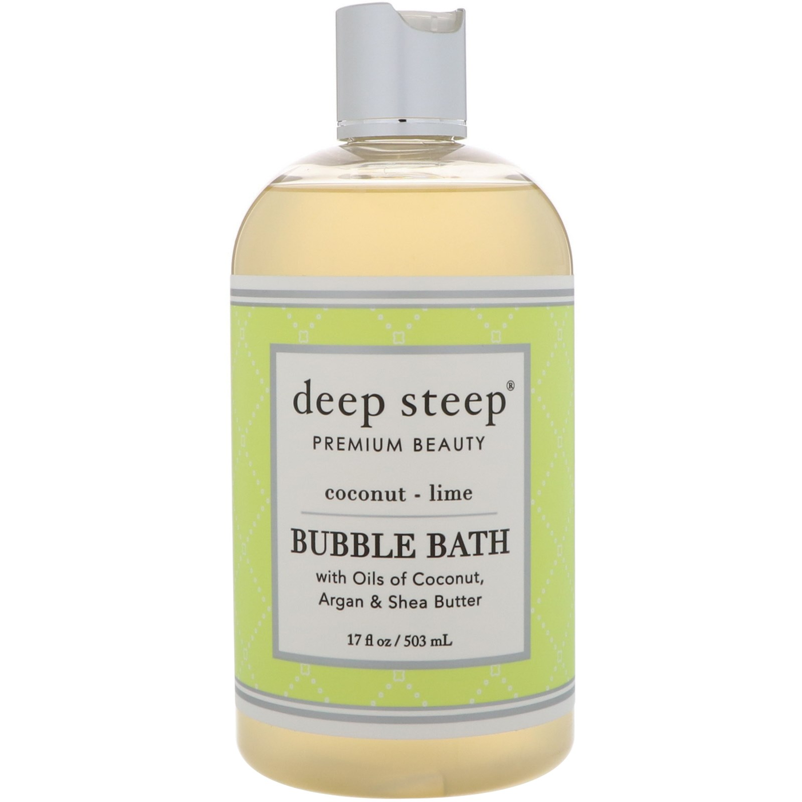 Deep Steep, Bubble Bath, Coconut Lime, 17 fl oz (503 ml)
