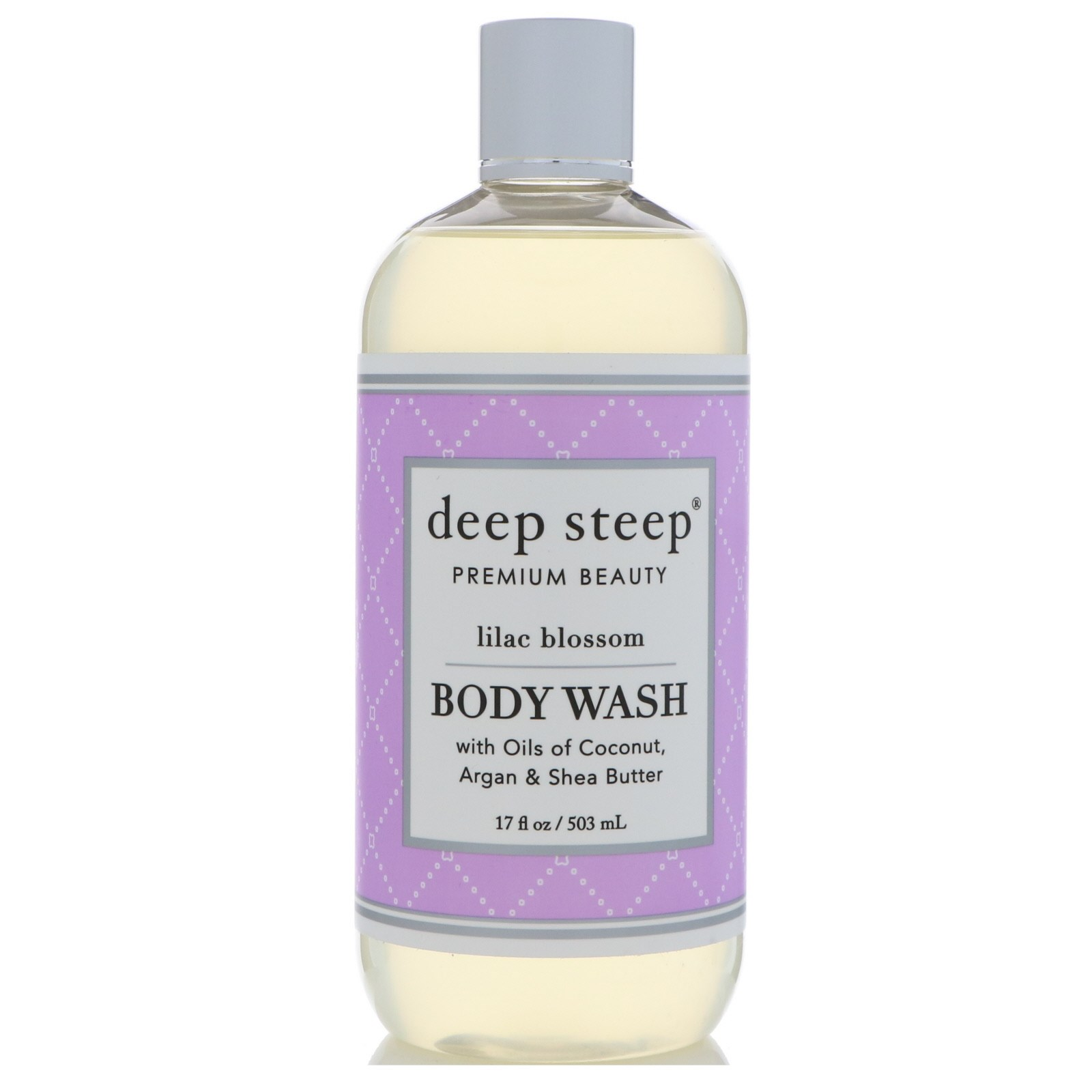 Deep Steep, Body Wash, Lilac Blossom, 17 fl oz (503 ml)