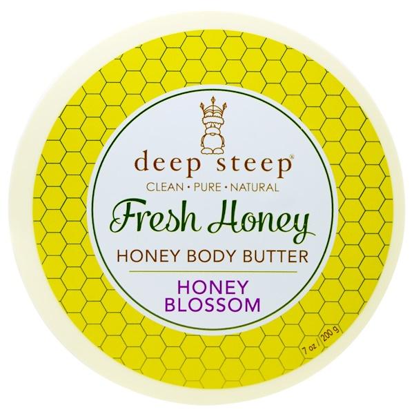 Deep Steep, Fresh Honey Body Butter, Honey Blossom, 7 oz (200 g) (Discontinued Item)