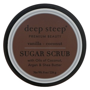 Дип Стип, Sugar Scrub, Vanilla — Coconut, 8 oz (226 g) отзывы