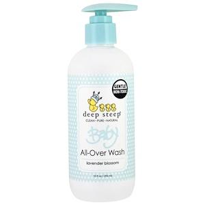 Дип Стип, Baby All-Over Wash, Lavender Blossom, 10 fl oz (296 ml) отзывы