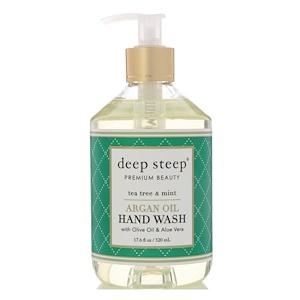 Дип Стип, Argan Oil Hand Wash, Tea Tree & Mint, 17.6 fl oz (520 ml) отзывы