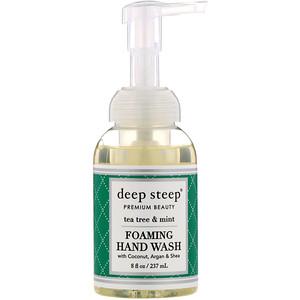Дип Стип, Foaming Hand Wash, Tea Tree & Mint, 8 fl oz (237 ml) отзывы
