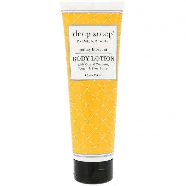Deep Steep, Body Lotion, Honey Blossom, 8 fl oz (236 ml) (Discontinued Item)