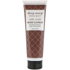 Дип Стип, Body Lotion, Vanilla — Coconut, 8 fl oz (236 ml) отзывы