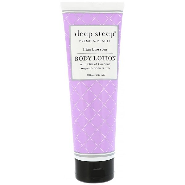 Deep Steep, Body Lotion, Lilac Blossom, 8 fl oz (237 ml)