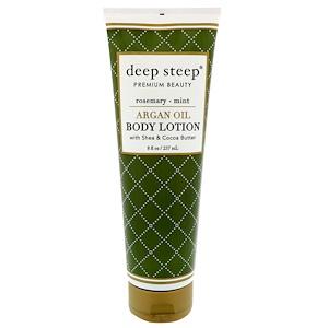 Дип Стип, Argan Oil Body Lotion, Rosemary-Mint, 8 fl oz (237 ml) отзывы