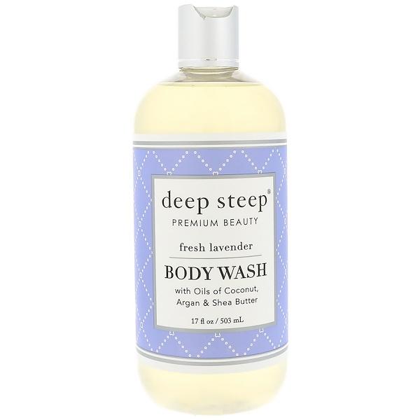 Body Wash, Fresh Lavender, 17 fl oz (503 ml)