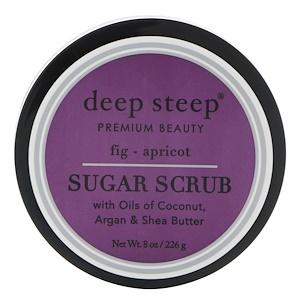 Дип Стип, Sugar Scrub, Fig — Apricot, 8 oz (226 g) отзывы