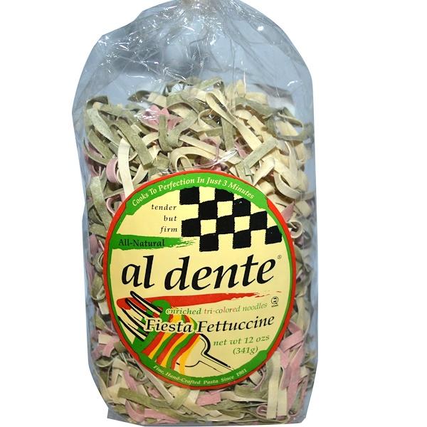 Al Dente Pasta, Fiesta Fettuccine, 12 oz (341 g) (Discontinued Item)