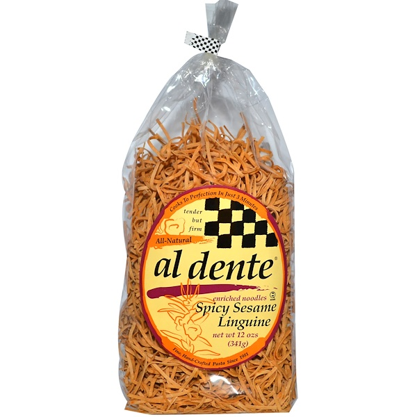 Al Dente Pasta, Spicy Sesame Linguine, 12 oz (341 g) (Discontinued Item)