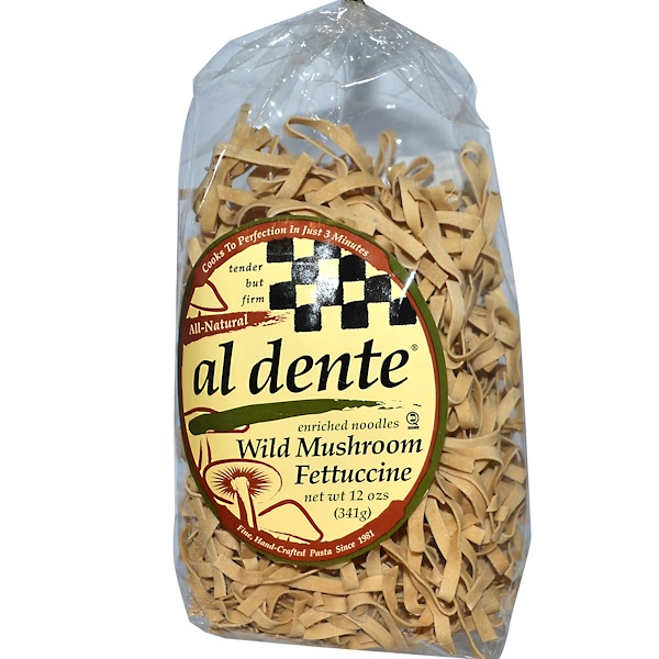 Al Dente Pasta, Wild Mushroom Fettuccine, 12 oz (341 g) (Discontinued Item)