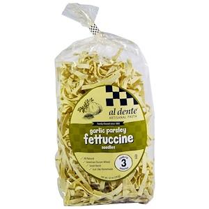 Al Dente Pasta, Garlic Parsley Fettuccine, 12 oz (341 g)