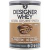 Designer Protein, デザイナーホエイ、天然100%ホエイプロテイン、チョコレートモカ、12 oz (340 g)