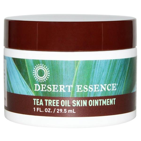 Desert Essence, Desert Essence, Desert Essence, ティーツリーオイルスキンクリーム、1液量オンス(29.5 ml)
