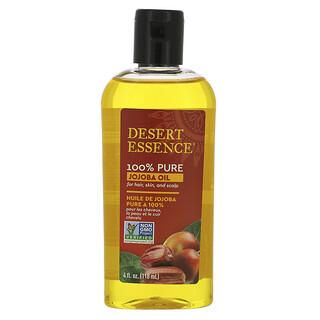 Desert Essence, 100% Pure Jojoba Oil, 4 fl oz (118 ml)