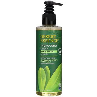 Desert Essence, غسول الوجه للتنظيف العميق، 8.5 أونصة سائلة (250 مل)