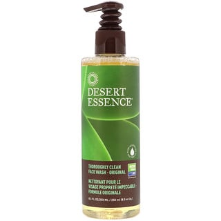Desert Essence, Thoroughly Clean Face Wash, Original, 8.5 fl oz (250 ml)