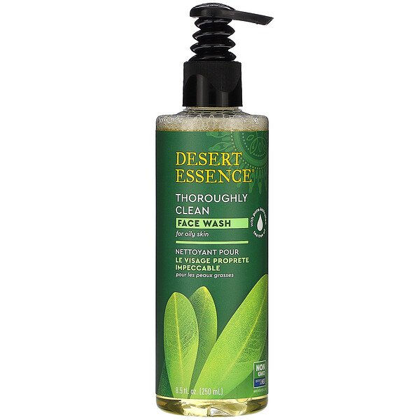 Desert Essence, Thoroughly Clean Face Wash, 8.5 fl oz (250 ml)
