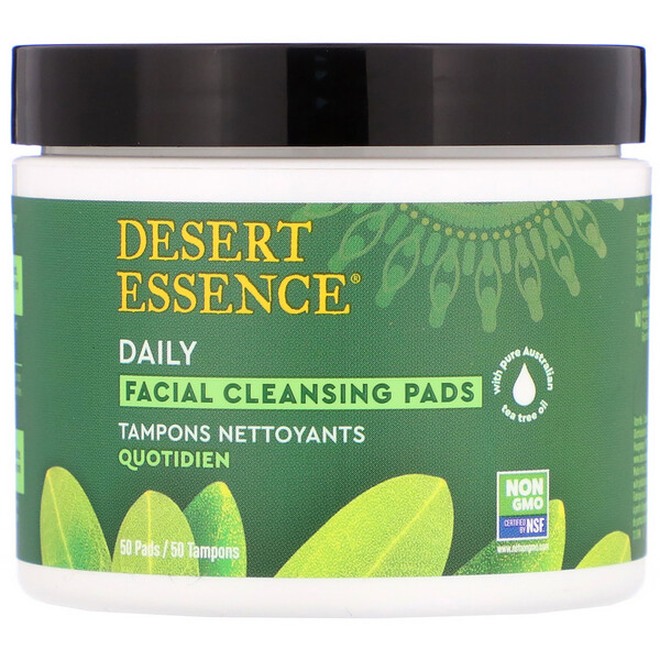 Daily Facial Cleansing Pads, 50 Pads