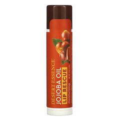 Desert Essence, 嘴唇救援,荷荷巴油保濕潤唇膏,0.15 盎司(4.25 克)