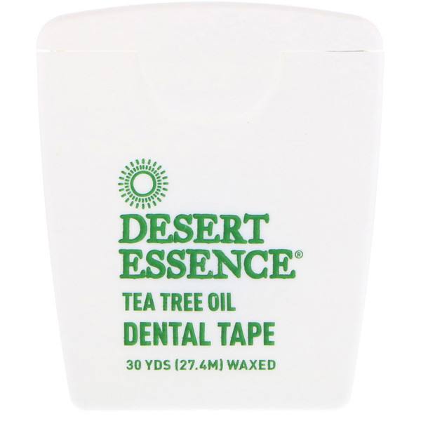 Tea Tree Oil Dental Tape, Waxed, 30 Yds (27.4 m)