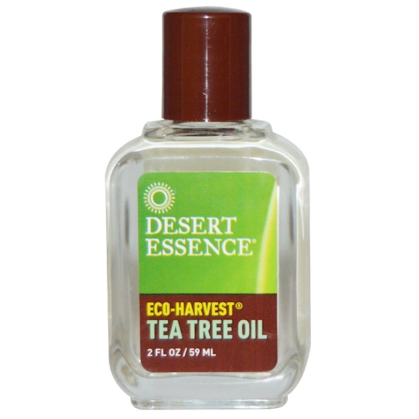 Desert Essence, Eco-Harvest, Tea Tree Oil, 2 fl oz (59 ml) (Discontinued Item)