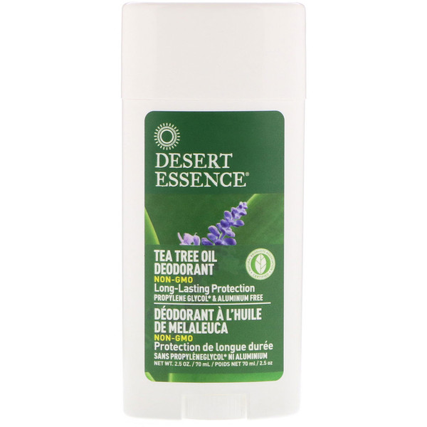 Deodorant, Tea Tree Oil, 2.5 oz (70 ml)