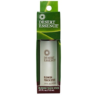 Desert Essence, Blemish Touch Stick, .31 fl oz (9.3 ml)