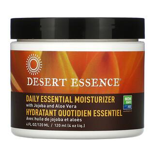Desert Essence, デイリーエッセンシャル保湿クリーム、120ml(4液量オンス)