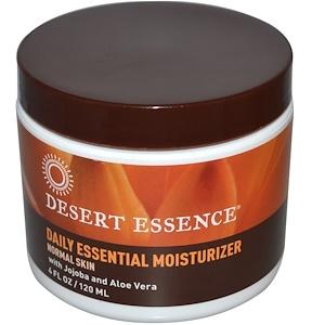 Desert Essence, Увлажняющий крем для ежедневного применения, 4 жидких унции (120 мл) инструкция, применение, состав, противопоказания