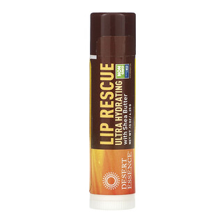 Desert Essence, Lip Rescue, Ultra Hydrating with Shea Butter, .15 oz (4.25 g)