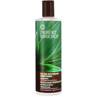 Desert Essence, ティーツリー・リプレニッシング・コンディショナー, 12.9 液量オンス (382 ml)