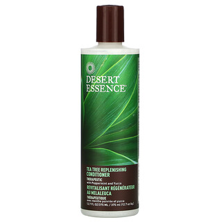 Desert Essence, Tea Tree Replenishing Conditioner, 12.7 fl oz (375 ml)