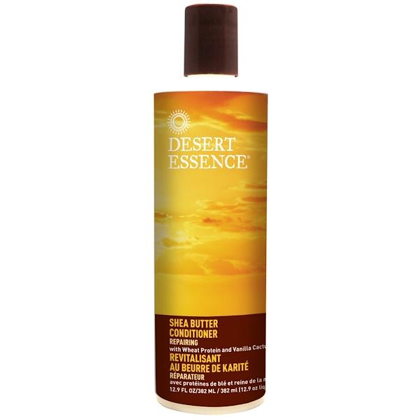 Desert Essence, Shea Butter Conditioner, Repairing, 12.9 fl oz (382 ml) (Discontinued Item)