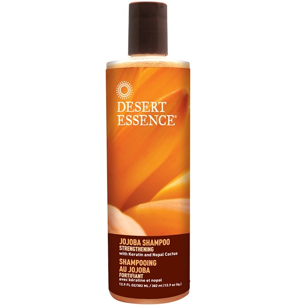 Desert Essence, Jojoba Shampoo, Strengthening, 12.9 fl oz (382 ml) (Discontinued Item)