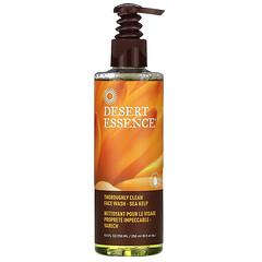 Desert Essence, 徹底清潔洗面乳,海藻,8.5 液量盎司(250 毫升)