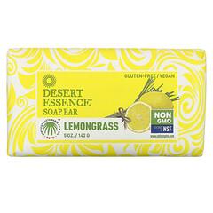 Desert Essence, 塊狀皂,檸檬香茅味,5 盎司(142 克)