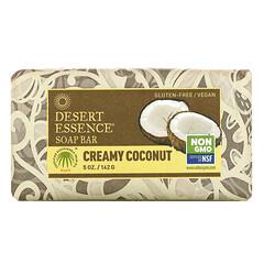 Desert Essence, 香皂,奶油椰子,5 盎司(142 克)