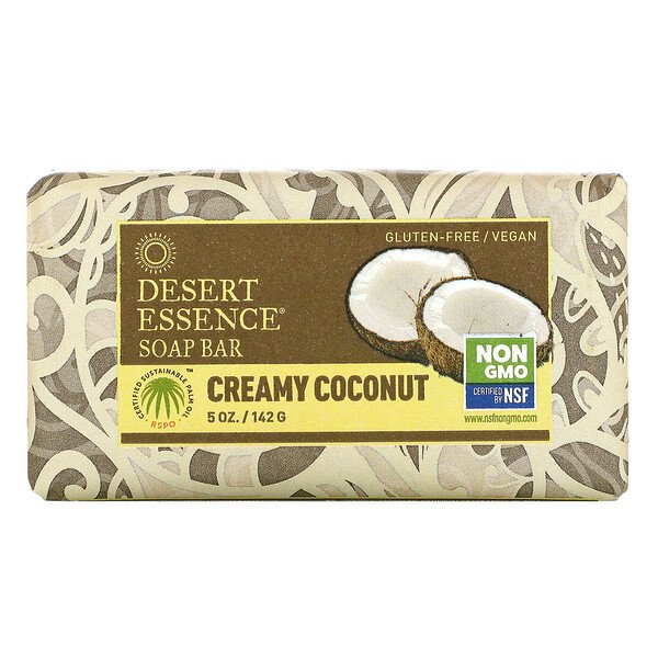 Soap Bar, Creamy Coconut, 5 oz (142 g)
