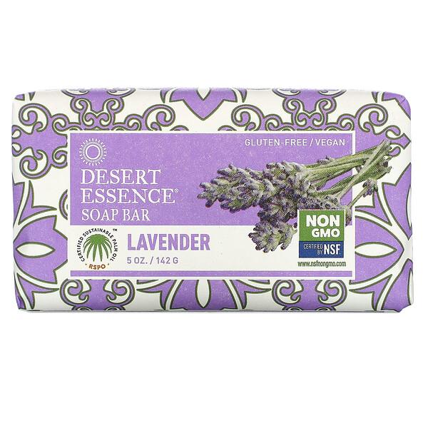 Desert Essence, Soap Bar, Lavender, 5 oz (142 g)