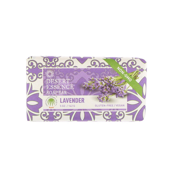 Desert Essence, Soap Bar, Lavender, 5 oz (142 g)