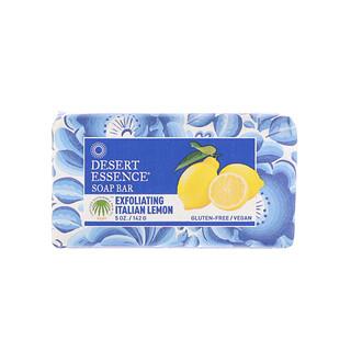 Desert Essence, ソープバー, エクスフォリエイティング・イタリアンレモン, 5 オンス (142 g)