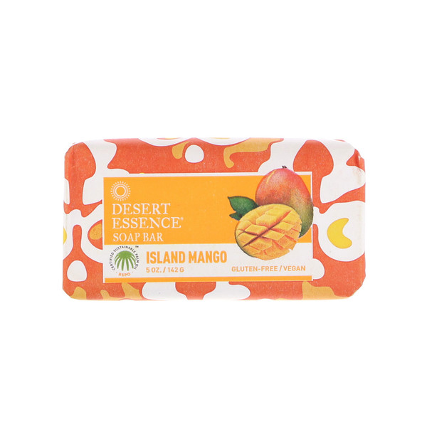 Desert Essence, Soap Bar, Island Mango, 5 oz (142 g)