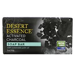 Desert Essence, 香皂,活性炭,5 盎司(142 克)