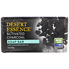 Desert Essence, Soap Bar, Activated Charcoal, 5 oz (142 g)