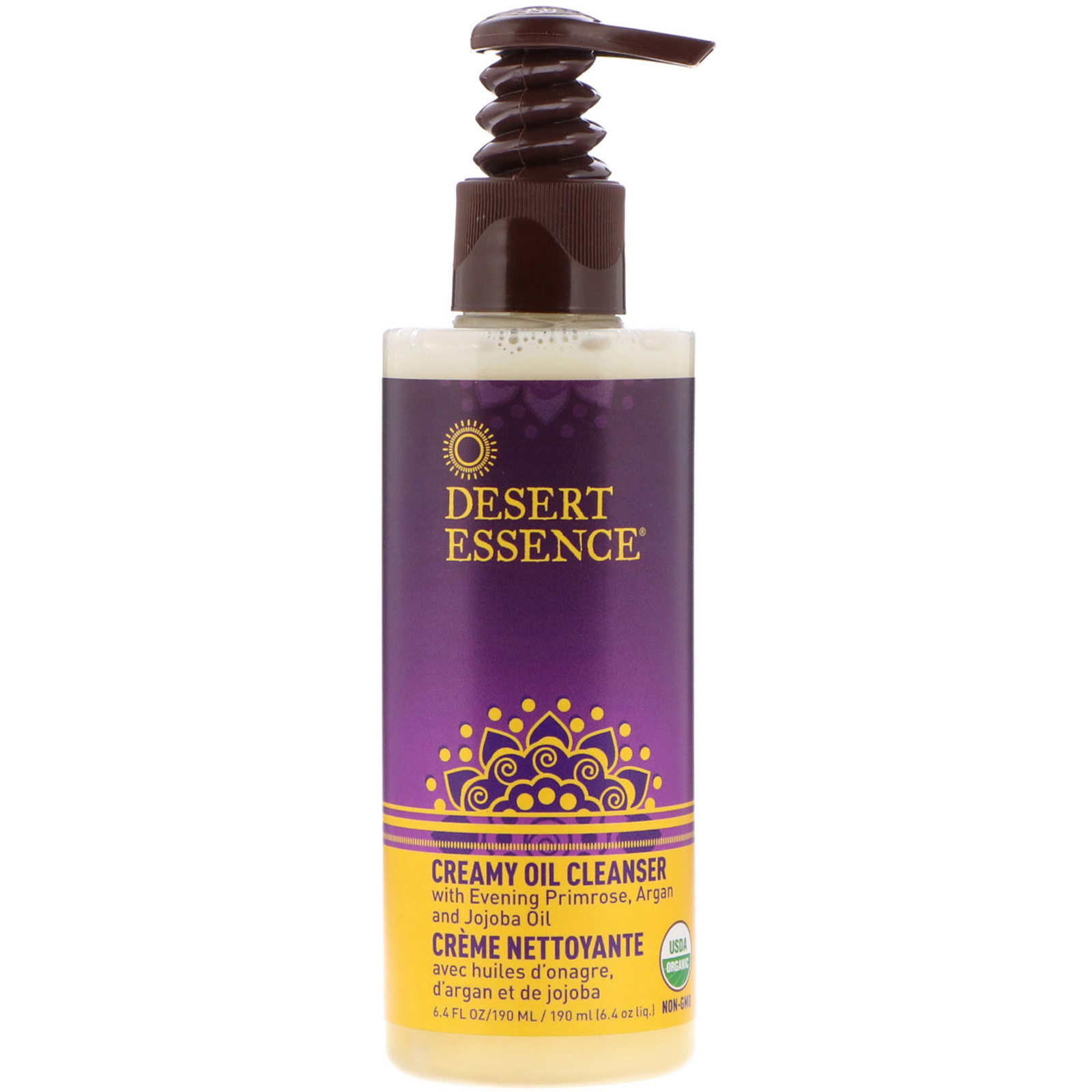 Desert Essence Creamy Oil Cleanser 6 4 Fl Oz 190 Ml