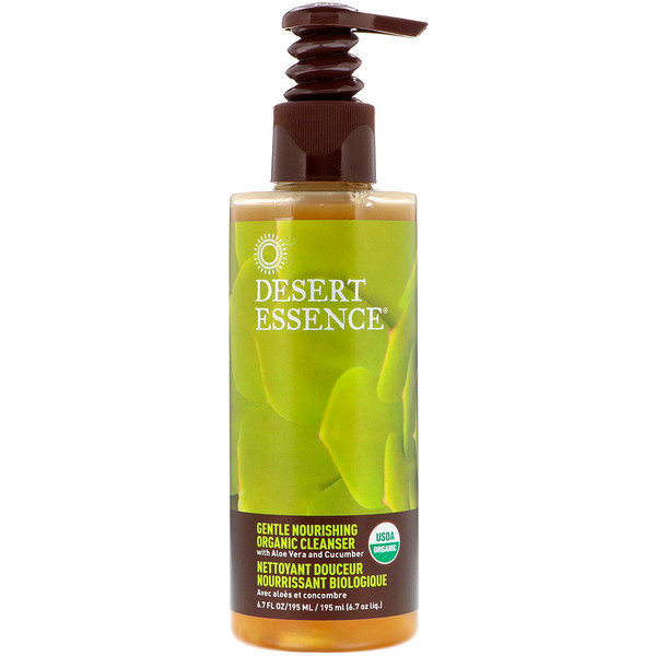 Gentle Nourishing Organic Cleanser, 6.7 fl oz (195 ml)