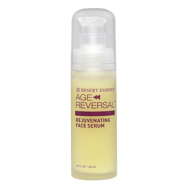 Desert Essence, Age Reversal, Rejuvenating Face Serum, .95 fl oz (28 ml) (Discontinued Item)
