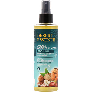 Desert Essence, Jojoba & Sweet Almond Body Oil Spray, 8.28 fl oz (245 ml)